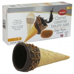 Cornets gourmands Caramel au beurre salé - 150g en stock