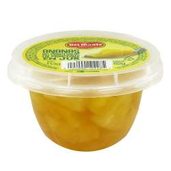 Ananas en morceaux en jus 113g - 12 coupelles en stock