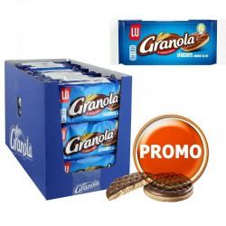 Granola pocket 75g - 30 étuis [DLUO 31/08/21] en stock