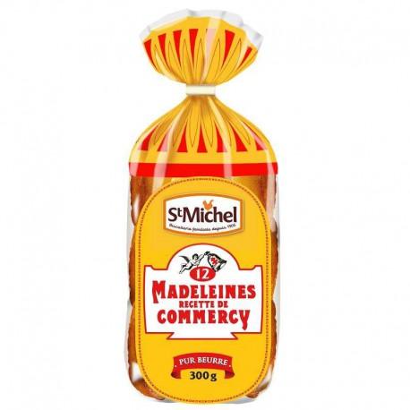 Madeleines de Commercy s/cello St Michel 300g - 12 paquets