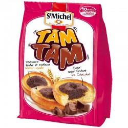 Tam Tam coeur fondant chocolatSt Michel 275g - 12 paquets en stock