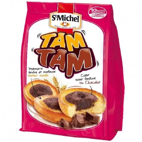 Tam Tam coeur fondant chocolatSt Michel 275g - 12 paquets