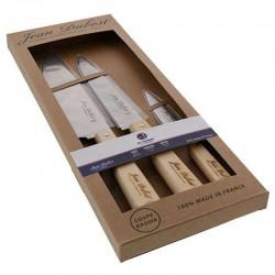 Set 3 couteaux de cuisine Jean Dubost en stock