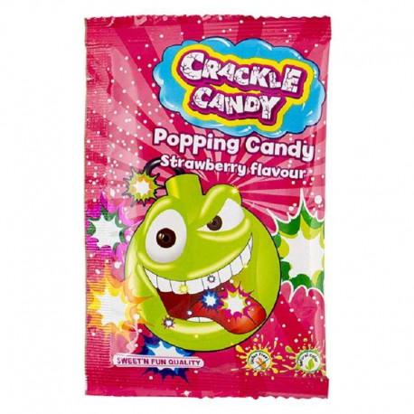 Crackle Candy fraise 8g - boite de 50 sachets