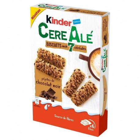 Kinder CereAlé et pépites de chocolat noir - carton de 20 paquets