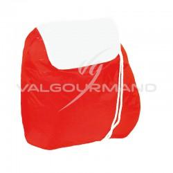 Sac à dos nylon rouge - pièce en stock