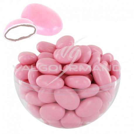 Dragées guimauve et chocolat noir ROSE NACRE - 1kg