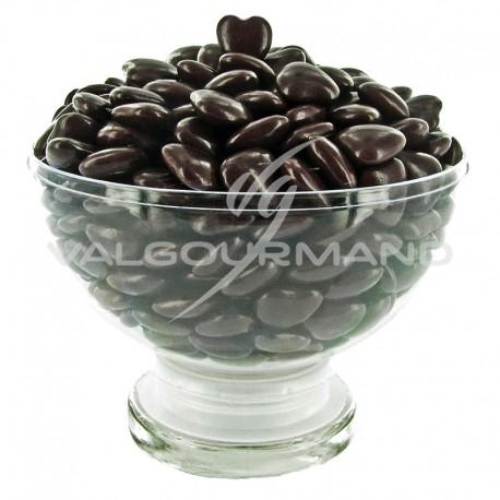 Mini Coeurs Dragées chocolat col. CHOCOLAT - 500g