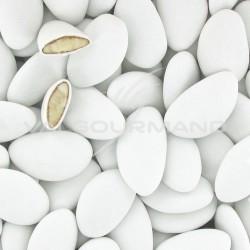 Dragées amande Avola Dauphine MAT (45% amande) BLANC - 1kg
