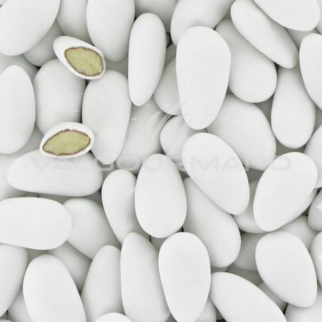 Dragées ALSACE 1 (43% amande) BLANC mat - 1kg