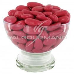 Dragées ALSACE (43% amande) ROSE POURPRE brillant - 1kg en stock
