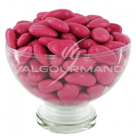 Dragées ALSACE (43% amande) FRAMBOISE brillant - 1kg
