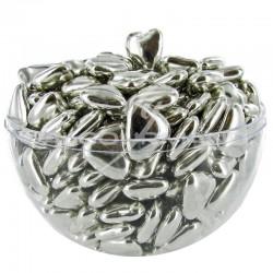 Coeurs mignons Argent 1,5cm - Dragées au chocolat - 1kg