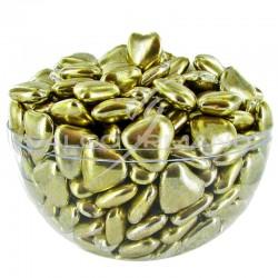 Coeurs mignons Or 1,5cm - Dragées au chocolat - 1kg