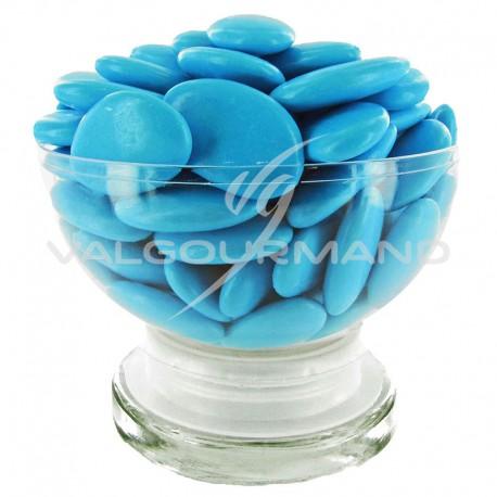 Dragées Avola dauphine (45% amande) TURQUOISE brillant - 500g