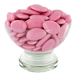 Dragées chocolat 54% ROSE NACRE - 1kg