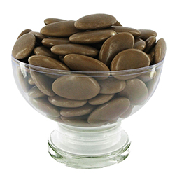 Dragées chocolat 54% TAUPE - 1kg
