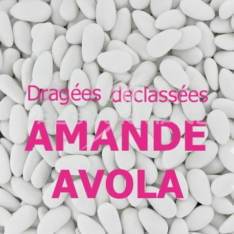 Dragées amande Avola déclassées BLANC - 1kg