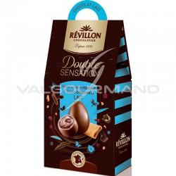 Assortiment oeufs double sensation lait 155g Révillon