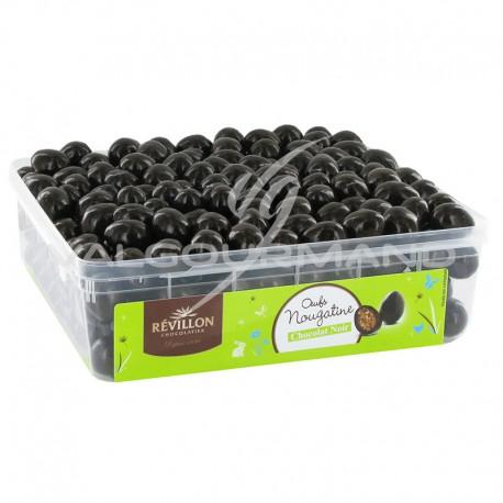 Oeufs nougatine et chocolat noir - tubo de 1kg
