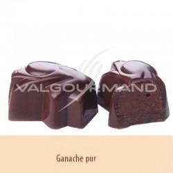 Chocolats noir ganache pur - boîte de 950g en stock