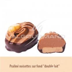 Chocolats au lait praliné, noisette et double lait - boîte de 1.150kg