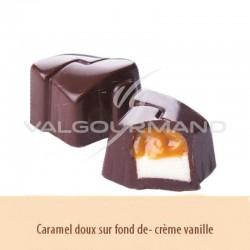 Chocolats noir au caramel et crème au beurre vanille - boîte de 1.150kg