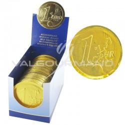 Médailles en chocolat 21g sous alu - la boîte de 30