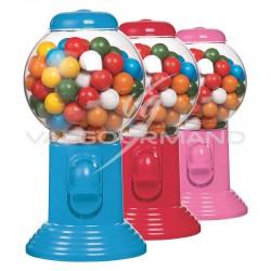 Distributeur garni de billes chewing-gum - 300g