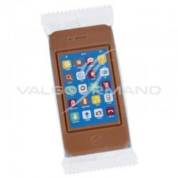 Téléphone portable en chocolat au lait - 75g en stock