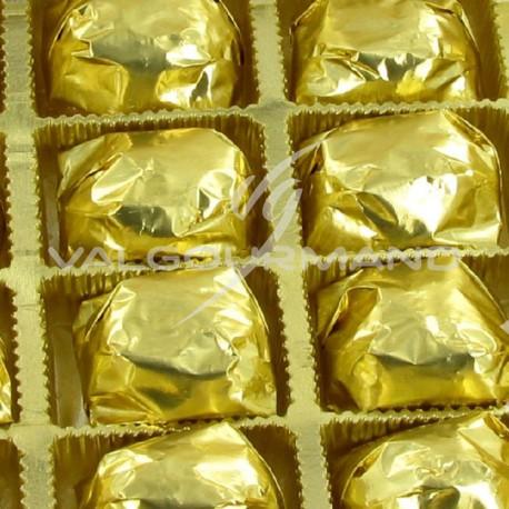 Marrons glacés pliés or - plateau 1,100kg