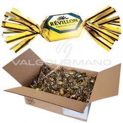 Papillotes Révillon Malakoffs lait - carton de 4.600kg