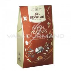 Papillotes Révillon Grands Pralinés lait - pochette de 270g