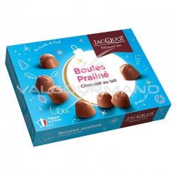 Boules praliné et chocolat au lait - boîte de 1kg en stock
