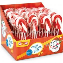 Candy canes pop - 32 sucettes en stock