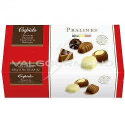 Ballotin Cupido assortiment de chocolats Belges - 250g