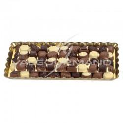 Assortiment Luxe chocolats praliné - carton de 3kg en stock