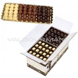 Escargots en chocolat praliné - carton de 3kg