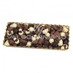 Assortiment Hiver chocolats praliné - carton de 3kg en stock