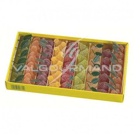 Pâtes de fruits extra en forme de fruits - 1kg