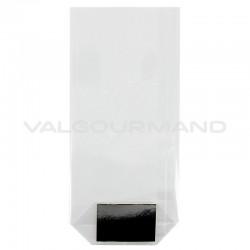 Sachets transparents avec fond carton 120 x 260 GM - 100 pièces en stock