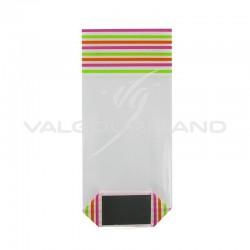 Sachets avec fond carton Mélodie 100 x 220 PM - 100 pièces