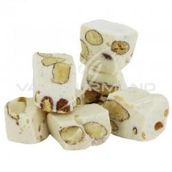 Nougats blancs durs aux amandes 25% - sachet de 750g en stock