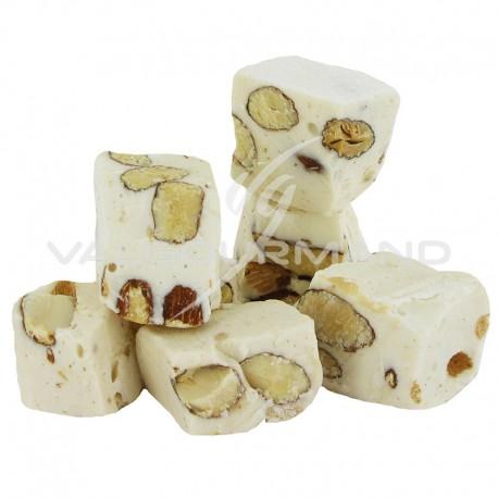 Nougats blancs durs aux amandes 25% - sachet de 750g