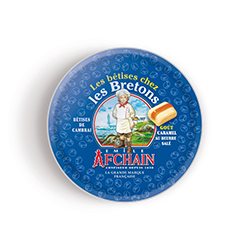 Bêtises de Cambrai Bretagne Caramel beurre salé 55g - les 10 boîtes en stock