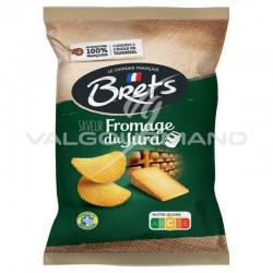 Chips Brets au fromage du Jura 125g - 10 paquets