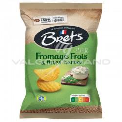 Chips Brets fromage frais et fines herbes 125g - 10 paquets