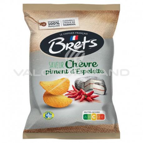 Chips Brets chèvre piment Espelette 125g - 10 paquets