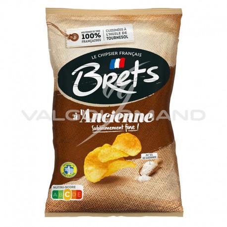 Chips Brets à l ancienne sel de guérande 125g - 10 paquets
