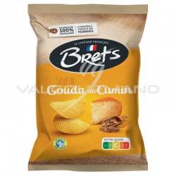 Chips Brets gouda cumin 125g - 10 paquets
